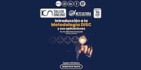 Taller Online Introducción a la Metodología DISC 14Abr boletos