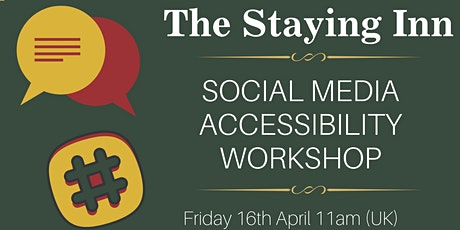 Social Media Accessibility Workshop tickets