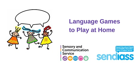 Language Games to Play at Home tickets