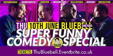 Super Funny Comedy Special at Bluebell Vineyard! tickets