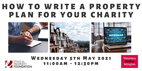 How to Write a Property Plan for your Charity tickets