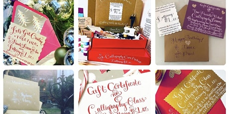 Gift Card & Supplies Kit for Virtual or IRL Calligraphy Lesson(s) tickets