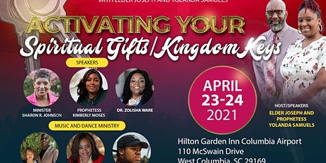 Activating Your Spiritual Gifts tickets