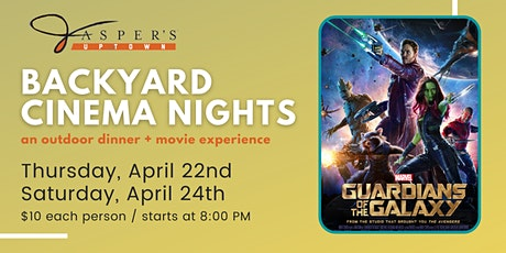 Backyard Cinema Night | Guardians of the Galaxy tickets
