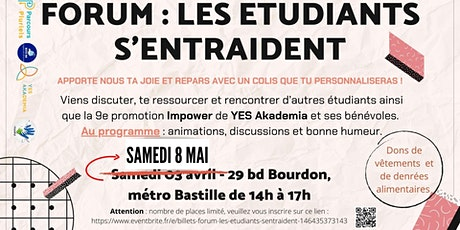 Forum Les étudiants s'entraident tickets