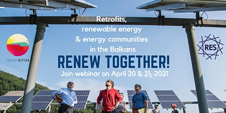 Retrofits, renewable energy & energy communities in the Balkans tickets