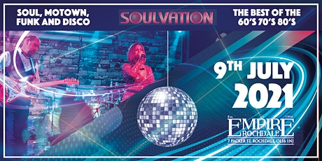 SOULVATION - Soul Funk Motown Disco PARTY tickets