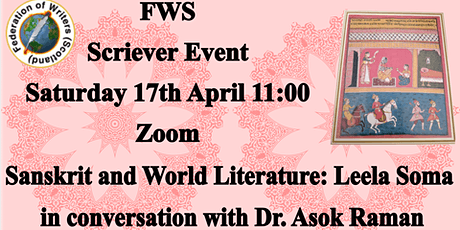 Sanskrit and World Literature Leela Soma in Conversation with Dr Asok Raman tickets
