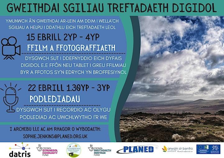 Gweithdy Ffilm a Ffotograffiaeth | Film-making & Photography Workshop image