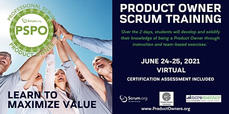 Certified Training   Professional Scrum Product Owner (PSPO) billets
