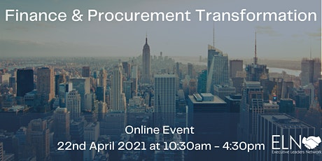 CFO/CPO Finance & Procurement Summit 2021 tickets