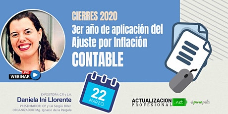 GRAB Cierres 2020 – 3er año de aplicación del Ajuste por Inflación CONTABLE entradas