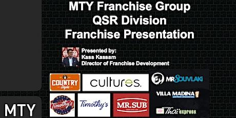 MTY Franchise Information Webinar (April 2021) biglietti