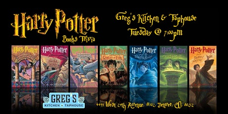 Harry Potter Books Trivia at Greg's Kitchen & Taphouse tickets