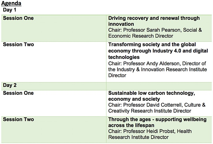 Sustainable Industry and Society Through Transformative Research image