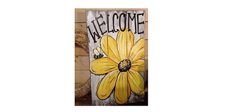 Floral Welcome Sign tickets
