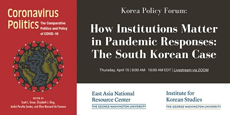 How Institutions Matter in Pandemic Responses: The South Korean Case tickets