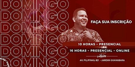 CULTO DE CELEBRAÇÃO / VIDEIRA 10H ingressos