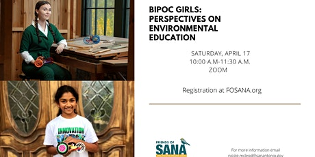 BIPOC Girls: Perspectives on Environmental Education tickets