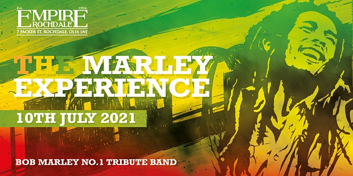 "Bob Marley No'1 Tribute Band ""The Marley Experience"" image"