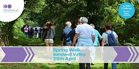 Charity Walk - Sandwell Valley tickets