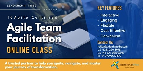 Agile Team Facilitation (ICP-ATF)   Part Time - 220621- Canada tickets