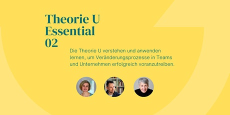MOVING FORWARD - Theorie U Essential 02  Paradigmenwechsel Tickets