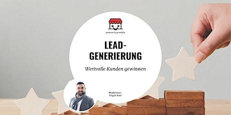 Leadgenerierung für Händler - wie du wertvolle Kunden gewinnst Tickets