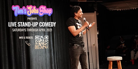 Tim's Joke Shop presents: Live Stand-up Comedy tickets