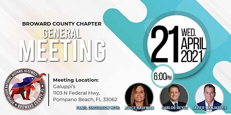 Republican National Hispanic Assembly Broward Chapter Meeting tickets