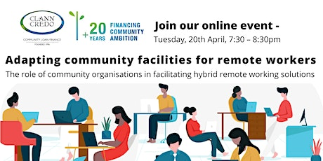 Remote Working and Communities – Adapting Community Facilities tickets