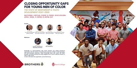 Closing Opportunity Gaps for Young Men of Color tickets