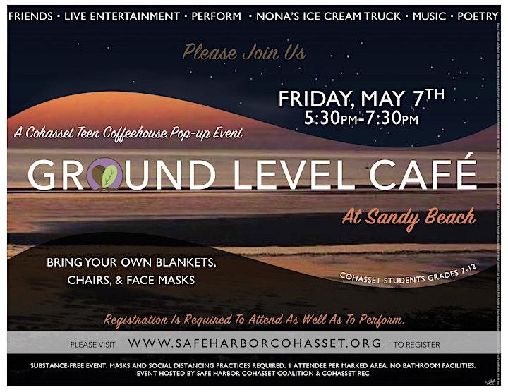 Ground Level Pop-Up Event @ Sandy Beach image