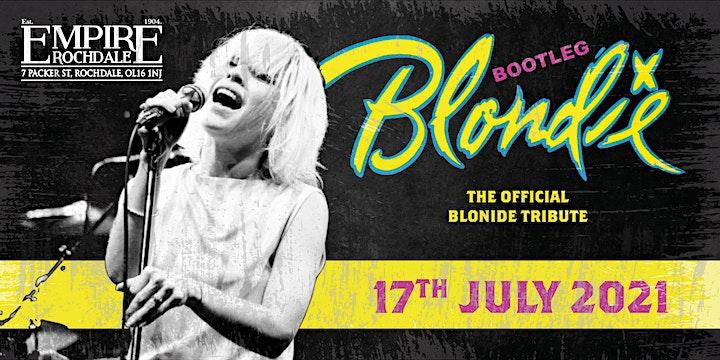 Bootleg Blondie  - A LIVE Blondie tribute band image