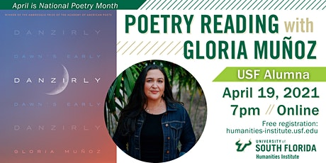 Poetry Reading with Gloria Muñoz tickets