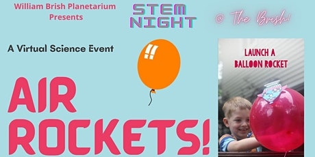 Science Night @ The Brish: Air Rockets! tickets