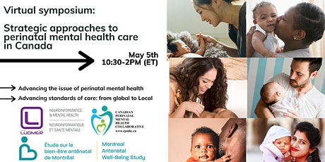 IMPROVING PERINATAL MENTAL HEALTH CARE IN CANADA tickets