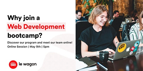 Information Session - Why join a Web Development Bootcamp ? tickets