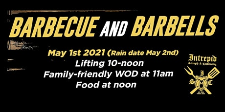 BBQ and Barbells - Spring social!!! tickets