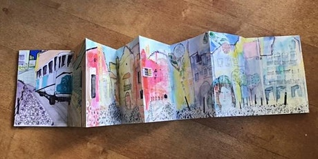 Concertina Sketchbooks  - Mixed Media Art One-Day Workshop tickets
