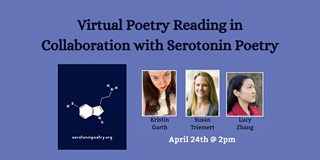 Virtual Poetry Reading in Collaboration with Serotonin Poetry tickets