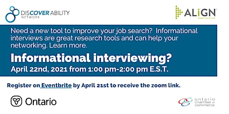What is an informational interview? tickets