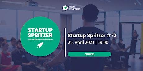 Startup Spritzer #72 - Online Tickets