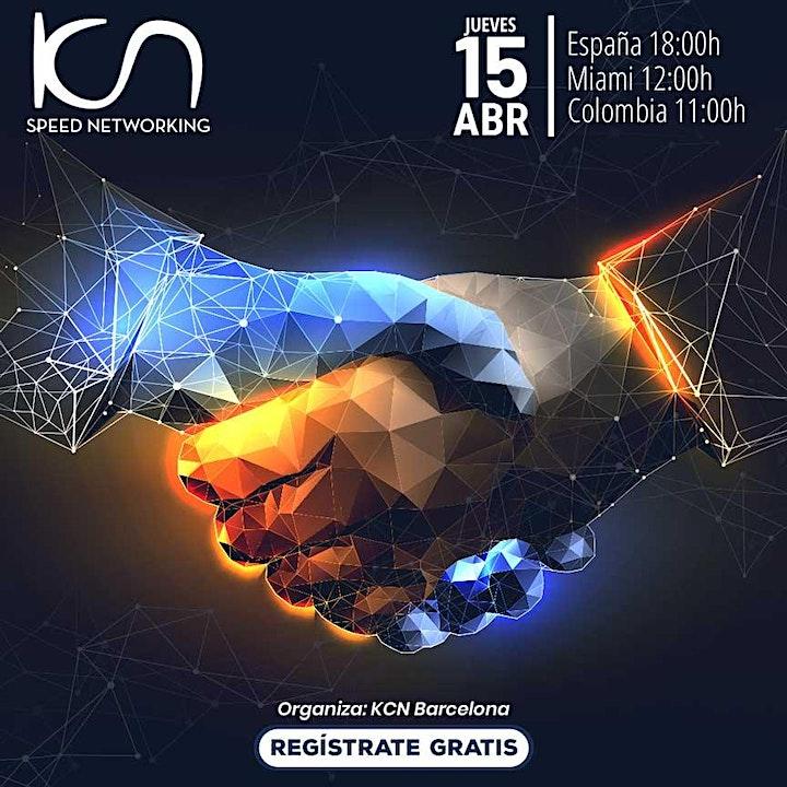 Imagen de KCN Barcelona Speed Networking Online 15Abr