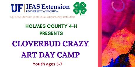 Cloverbud Crazy Art Day Camp tickets