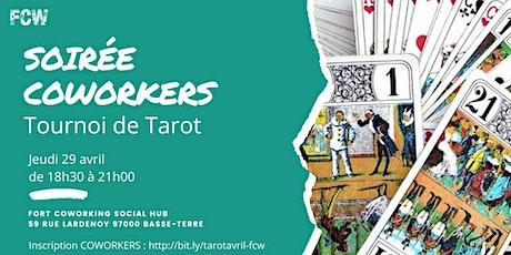 Soirée Coworkers - Tournoi de tarot billets