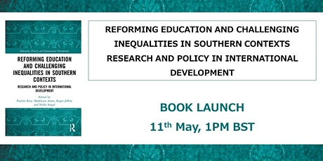 Book Launch: Reforming Education and Challenging Inequalities tickets