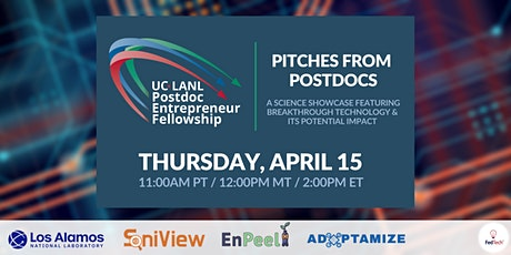Pitches from Postdocs: Los Alamos Science Showcase tickets