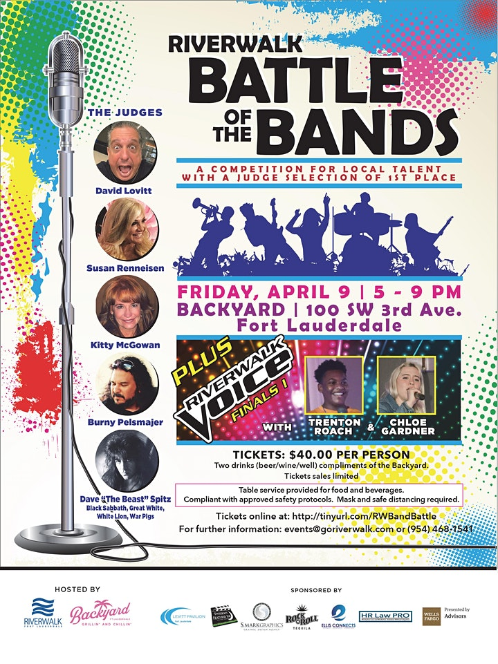 Riverwalk Battle of the Bands & The Voice Final image