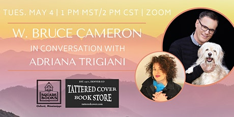 Live Stream with W. Bruce Cameron in conversation with Adriana Trigiani tickets